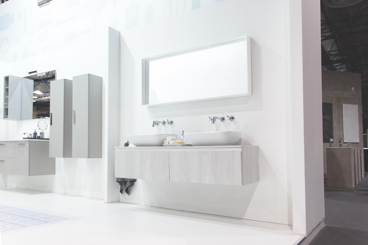 Baño moderno blanco mundococina.eu